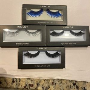 Cat eye sample pack of 4 INGLOT LASHES